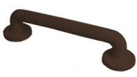 Grab Rails Plastic Fluted In Brown 300mm