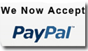 We accept PayPal for easy payment